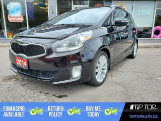 Used 2014 Kia Rondo EX 5-Seater ** Leather, Heated Seats, Backup Cam * for sale in Bowmanville, ON