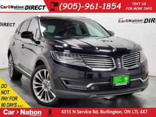 Used 2016 Lincoln MKX Reserve| NAVI| PANO ROOF| AWD| for sale in Burlington, ON