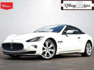 Used 2012 Maserati GranTurismo Convertible for sale in Ancaster, ON