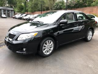Used 2009 Toyota Corolla LE for sale in Ancaster, ON