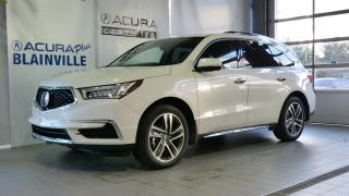 Used 2017 Acura MDX NAVIGATION ** SH-AWD ** for sale in Blainville, QC