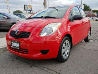 Used 2008 Toyota Yaris LE W/CRUISE CONTROL/AMAZINGCONDITION/DRIVES LIKE NEW/ONLY 111 KMS!!! for sale in Hamilton, ON