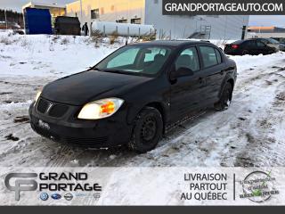 Used 2007 Pontiac G5 Auto A/C ***VENDU POUR PIÈCES*** for sale in Rivière-Du-Loup, QC