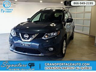 Used 2016 Nissan Rogue SV Tech AWD *7 pass.* Toit Nav Camera for sale in Rivière-Du-Loup, QC