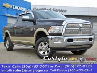 Used 2011 RAM 2500 Laramie, Crew, Leather Bench for sale in Carlyle, SK