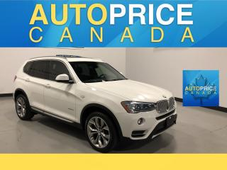 Used 2017 BMW X3 xDrive28i NAVIGATION|PANOROOF|LEATHER for sale in Mississauga, ON