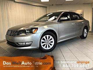 Used 2013 Volkswagen Passat 2.0 TDI Trend, Gr. Électrique, A/C, Automatique for sale in Sherbrooke, QC
