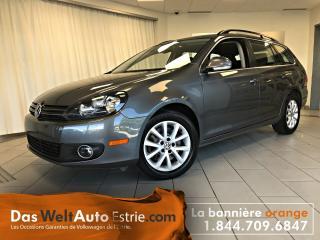 Used 2014 Volkswagen Golf Wagon 2.0 TDI Comfort, Manuel for sale in Sherbrooke, QC