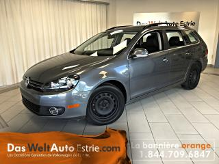 Used 2014 Volkswagen Golf Wagon 2.0 TDI Highline, Cuir, Toit, Manuel for sale in Sherbrooke, QC