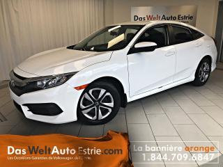 Used 2016 Honda Civic LX, Gr. Électrique, A/C, Automatique for sale in Sherbrooke, QC