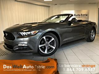 Used 2016 Ford Mustang V6, Gr. Électrique, A/C, Automatique for sale in Sherbrooke, QC