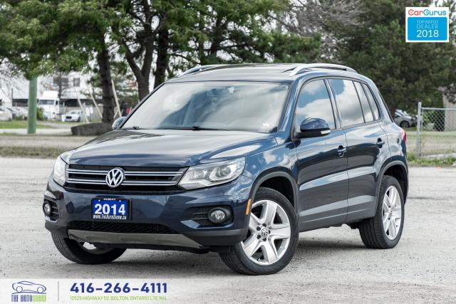2014 Volkswagen Tiguan Leather PanoRoof Clean Carfax Certified We Finance