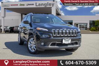 Used 2016 Jeep Cherokee Limited - Leather Seats -  Bluetooth for sale in Surrey, BC