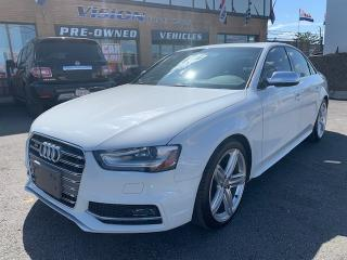 Used 2013 Audi S4 2013 Audi S4 - 4dr Sdn Auto TECH/ BMO/DRIVE SELECT for sale in North York, ON