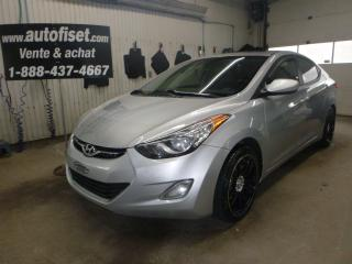 Used 2012 Hyundai Elantra GLS for sale in St-Raymond, QC
