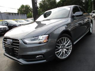 Used 2015 Audi A4 2.0T S-LINE QTRO KOMFORT+ONE OWNER|6 SPEED !! for sale in Burlington, ON