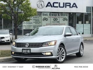 Used 2016 Volkswagen Passat Highline 1.8T 6sp at w/ Tip Navi, Blind Spot Info, Fender Audio for sale in Markham, ON