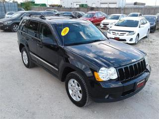 Used 2009 Jeep Grand Cherokee Laredo for sale in Oak Bluff, MB