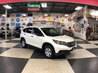 Used 2014 Honda CR-V LX AUT0  A/C H/SEATS BACKUP CAMERA 81K for sale in North York, ON