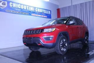 Used 2018 Jeep Compass Trailhawk 4x4 for sale in Chicoutimi, QC