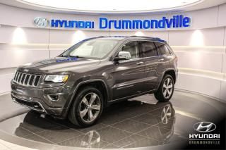 Used 2014 Jeep Grand Cherokee OVERLAND + NAVI + TOIT PANO + ANGLES MOR for sale in Drummondville, QC