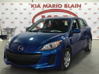 Used 2013 Mazda MAZDA3 GX * GROUPE ÉLECTRIQUE * A/C * for sale in Ste-Julie, QC