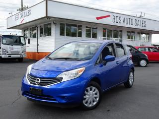 Used 2016 Nissan Versa Note SV Edition, Bluetooth, Traction Control, Low Kms for sale in Vancouver, BC