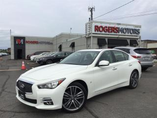 Used 2015 Infiniti Q50 LTD AWD - NAVI - SUNROOF - REVERSE CAM for sale in Oakville, ON