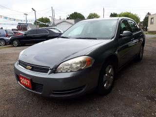 Used 2007 Chevrolet Impala LS Certified for sale in Oshawa, ON