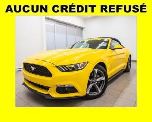 Used 2017 Ford Mustang CAMÉRA RECUL *BAS KILOMÉTRAGE* for sale in Mirabel, QC