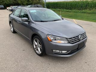 Used 2014 Volkswagen Passat COMFORTLINE TDI for sale in Waterloo, ON