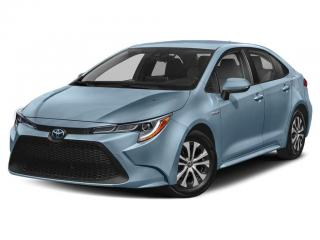 Used 2020 Toyota Corolla Hybrid for sale in Moncton, NB