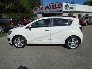 Used 2014 Chevrolet Sonic LT for sale in Scarborough, ON