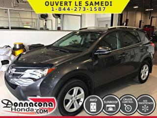 Used 2014 Toyota RAV4 XLE 2014  AWD *TOIT OUVRANT* CRUISE* for sale in Donnacona, QC