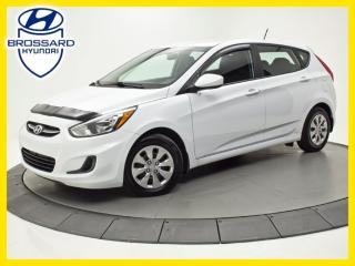 Used 2017 Hyundai Accent GL, SIÈGES CHAUFFANTS, BLUETOOTH, CRUISE for sale in Brossard, QC
