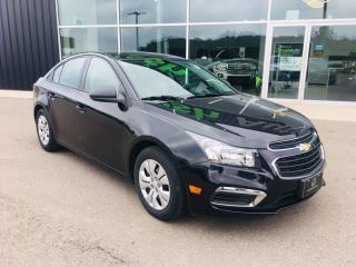 Used 2015 Chevrolet Cruze LS 2LS, Satellite Radio, Bluetooth for sale in Ingersoll, ON
