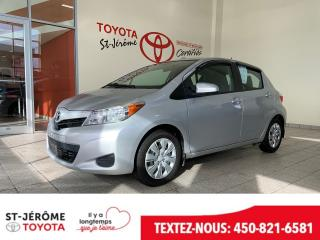Used 2014 Toyota Yaris * AIR * GR ÉLEC * DÉMARREUR * for sale in Mirabel, QC