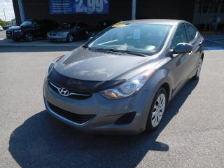 Used 2013 Hyundai Elantra GL, A/C, CRUISE, BLUETOOTH, BANC CHAUFFANT for sale in Mirabel, QC