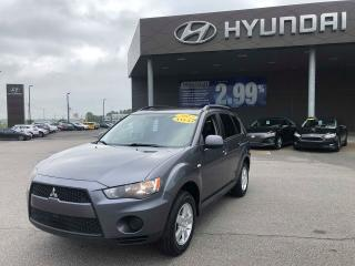 Used 2012 Mitsubishi Outlander ES4WD,MAGS,A/C,BANC CHAUFFANTS,VITRE+PORTES ELEC for sale in Mirabel, QC
