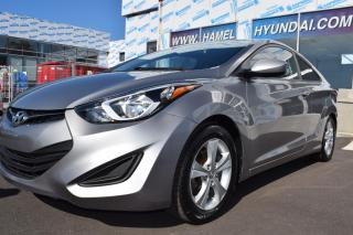 Used 2014 Hyundai Elantra Coupe GL for sale in St-Eustache, QC