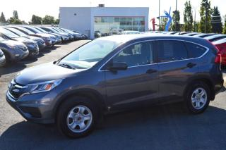 Used 2016 Honda CR-V LX  ** Inspecté ici ** for sale in Longueuil, QC