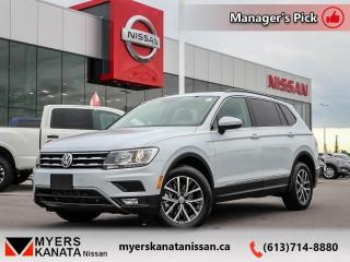 Used 2019 Volkswagen Tiguan Comfortline 4MOTION  -  Bluetooth - $232 B/W for sale in Kanata, ON