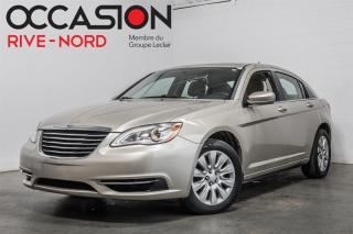 Used 2013 Chrysler 200 LX MAGS+A/C for sale in Boisbriand, QC