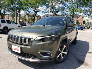 Used 2019 Jeep Cherokee Limited for sale in Toronto, ON