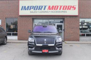 Used 2019 Lincoln Navigator LWB Reserve Brown Lthr for sale in North York, ON