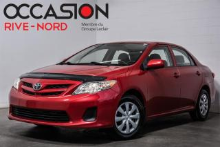 Used 2012 Toyota Corolla CE A/C+GR.ELECTRIQUE for sale in Boisbriand, QC