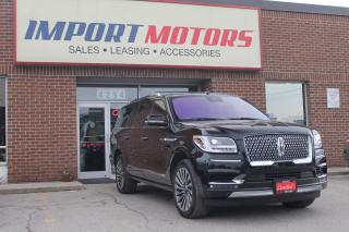 Used 2019 Lincoln Navigator LWB Reserve Loaded! for sale in North York, ON