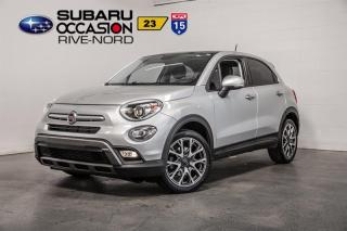 Used 2017 Fiat 500 X Trekking TOIT PANORAMIQUE+BLUETOOTH+CAM DE RECUL for sale in Boisbriand, QC