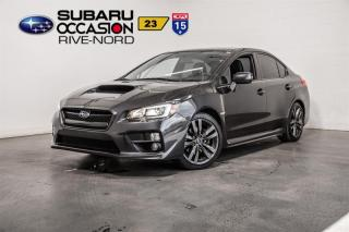 Used 2017 Subaru WRX Sport-Tech NAVI+CUIR+TOIT.OUVRANT for sale in Boisbriand, QC