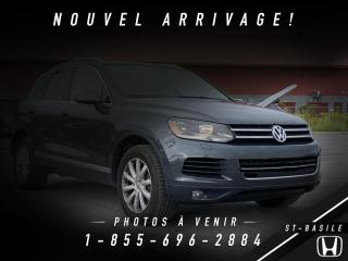 Used 2011 Volkswagen Touareg V6 + COMFORTLINE + CUIR + NAVI + BLUETO for sale in St-Basile-le-Grand, QC